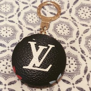 Louis Vuitton Black Multicolor Astropill Keychain